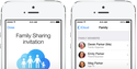 Family Sharing means up to six family members will be able to share the same iTunes content (and more).
