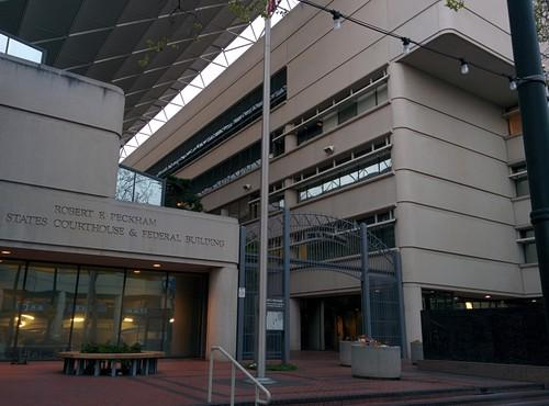 The federal courthouse in San Jose on the morning of March 31, 2014