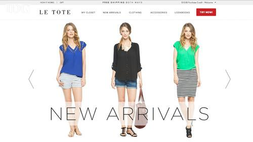 Le Tote offers a Netflix-style subscription service for women's clothing