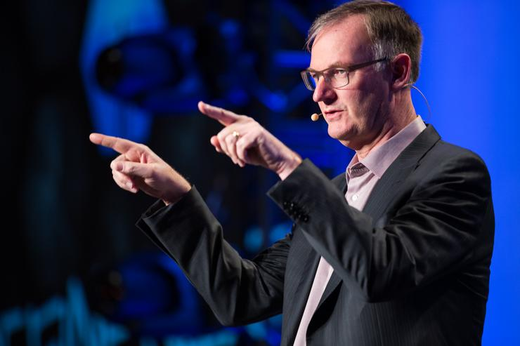 David Goulden - CEO, EMC heads up the dominate vendor in the storage space