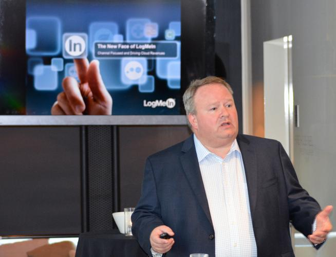 Ted Roller, LogMeIn, unveils Elevate