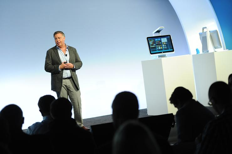 Dion Weisler, future President and Chief Executive Officer, HP Inc