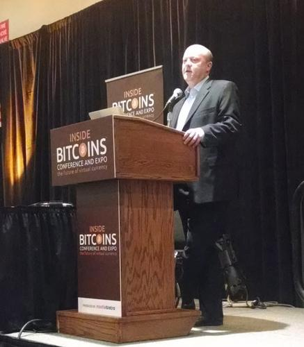 Jeremy Allaire, CEO of digital currency company Circle, at the Inside Bitcoins conference