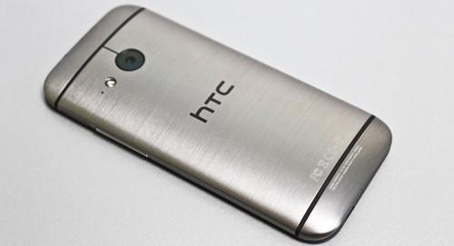 The HTC One Mini 2 has a 13-megapixel camera on the back.