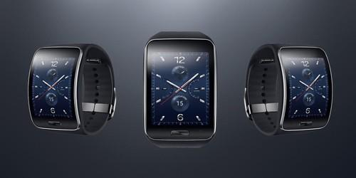 Samsung's Gear S smartwatch is a curvy timepiece with 3G connectivity that runs on the Tizen operating system.