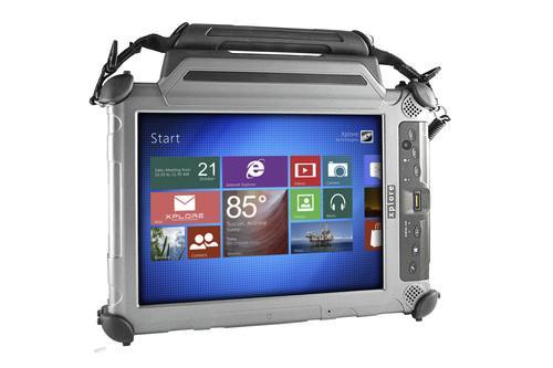 Xplore Technologies' XC6 DMSR tablet