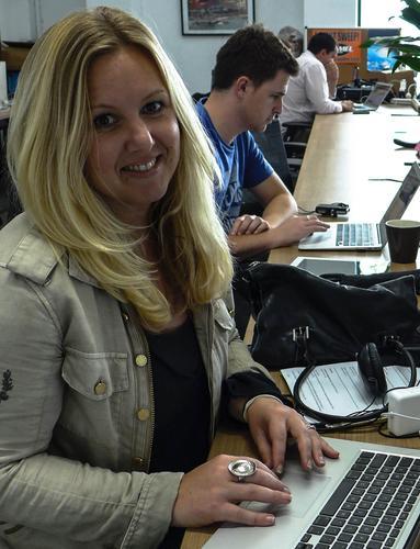 Catherine Robinson, director at Kiwi Landing Pad in San Francisco