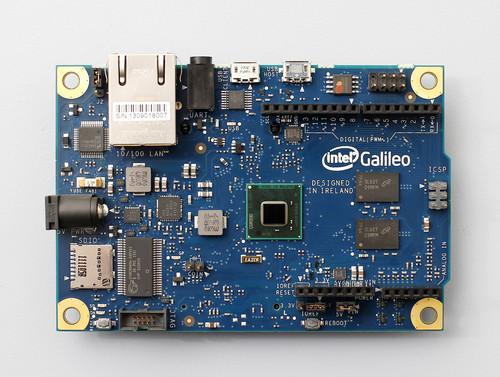 Intel's Galileo board with Quark chip