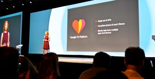 Google's Fit health tracking software kit unveiled at Google I/O.