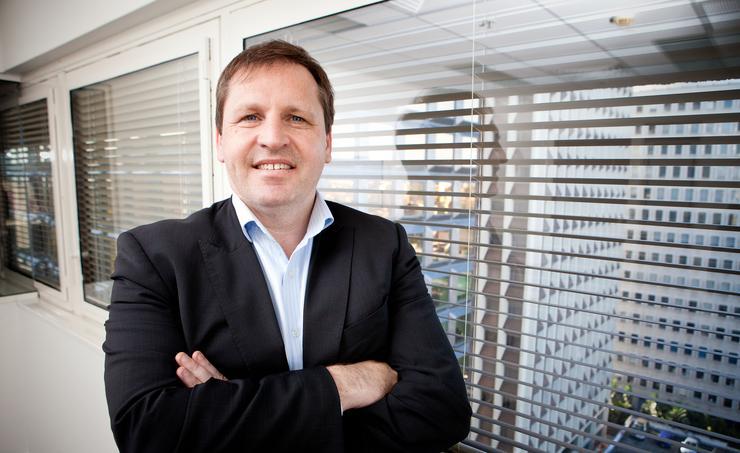 Riverbed regional vice president, Ian Raper.
