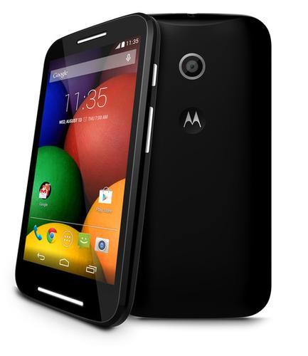 Motorola Mobility's new Moto E budget smartphone.