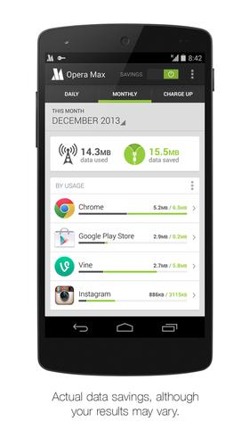 Opera's Max app will help smartphone users consume less data