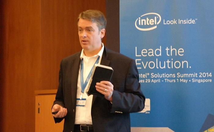 Intel PC client group product marketing director, John Deatherage.