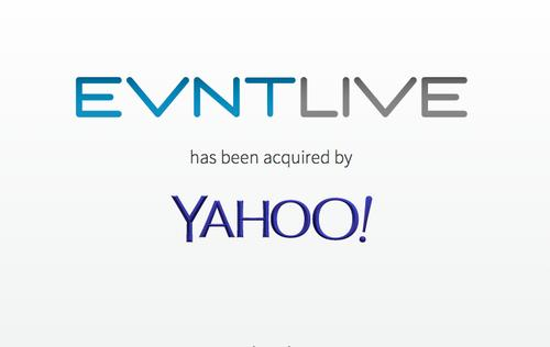 Yahoo has acquired Evntlive
