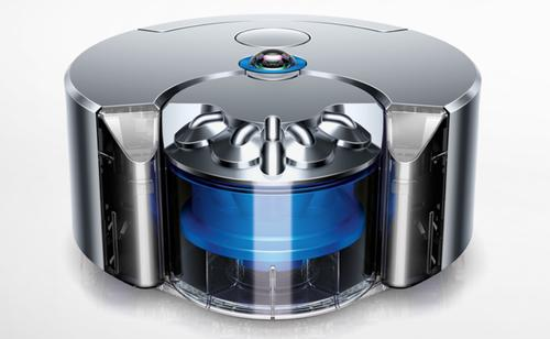 Dyson says its new 360 Eye has the most powerful suction of any robot vacuum cleaner.