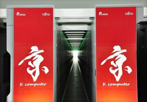 Fujitsu has been selected to design a successor to the K computer, seen here at the Riken Advanced Institute for Computational Science in Kobe, Japan. The FLAGSHIP 2020 Project machine may hit speeds of 1 quintillion calculations per second.