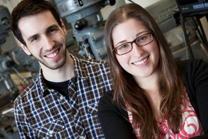 Even though St. Louis isn't considered a tech hotspot, Abby Cohen and Andrew Brimer haven't had problems finding IT workers to fill jobs at their health IT startup in the city.