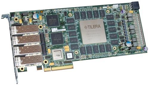 Tilera's Tilencore-GX 72-core co-processing chip