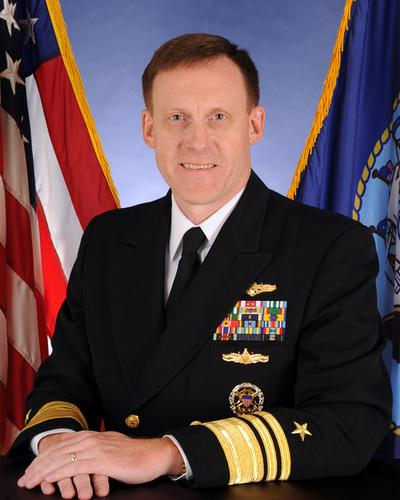 Navy Vice Admiral  Michael S. Rogers