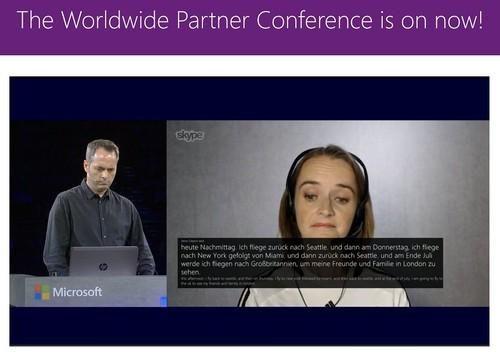 The languages translation feature Microsoft is developer for Skype.