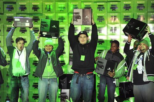 The first Xbox One consoles sold in New York