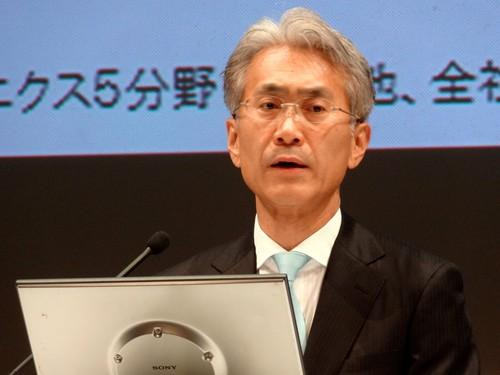 Sony CFO Kenichiro Yoshida announces US$1.2 billion in net losses for the year to March 31, 2014. Sony's exit of the PC business weighed heavily on its earnings.