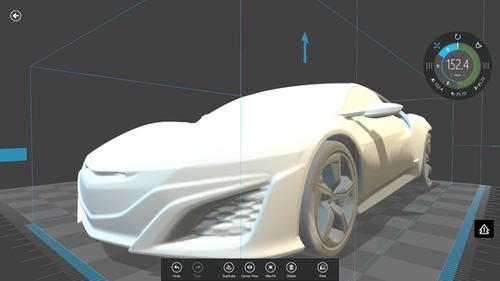 Honda recently unveiled Honda-3D.com as a portal for 3D-printable STL (Stereolithography) files. The downloads currently consist of a handful of Honda concept cars, including an upcoming Acura NSX.