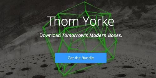 Radiohead front man Thom Yorke chose BitTorrent to release his latest album, Tomorrow's Modern Boxes.