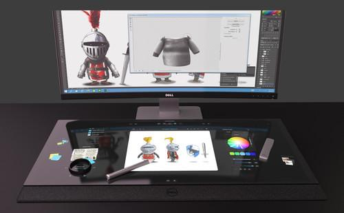 Dell shows off 'smart desk' prototype with tabletop touchscreen
