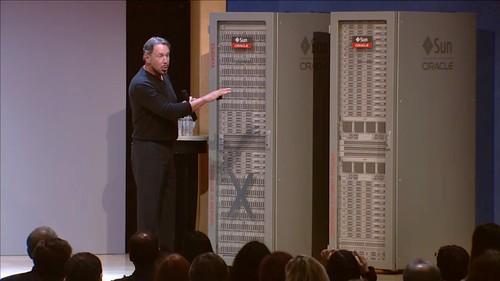 Larry Ellison launching new hardware Wednesday