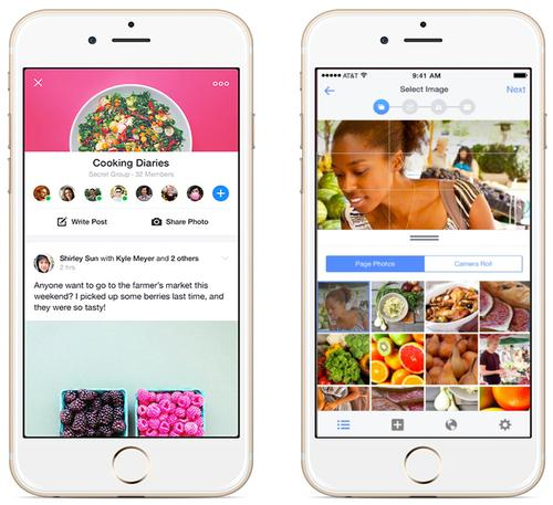 Facebook's React Native JavaScript library was designed to ease the process of building the user interfaces for iOS apps.