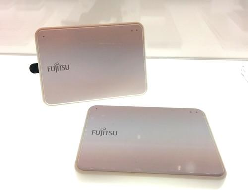 A prototype non-contact motion sensor from Fujitsu seen at a technology expo in Tokyo May 12, 2015. The electronics maker is partnering with Panasonic to test motion sensors and cloud-connected air conditioners in a seniors' home in Osaka, Japan.
