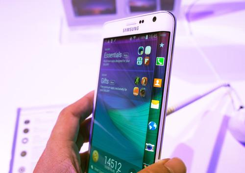 The Galaxy Note Edge from Samsung