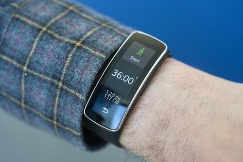 Samsung's Gear Fit didn't exactly wow us with its accuracy.