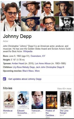 Google's KnowledgeGraph organizes information on the Web so it can be programmatically queried