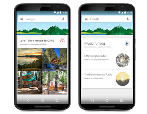 The latest update to Google Now on Android is a big one, with data from outside apps like Airbnb and Lyft fed in.
