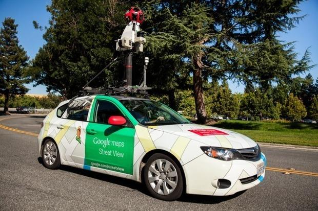 Google has installed air-quality monitoring gear from startup Aclima on some of its Street View cars. Credit: Aclima