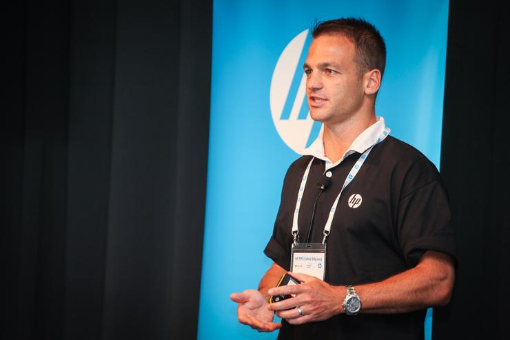 Oliver Hill, Channel Sales Manager, HP New Zealand