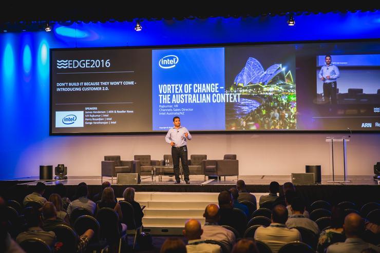 V.R. Rajkumar - Channel sales director A/NZ, Intel