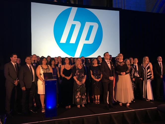 HP New Zealand team honours its best performing Kiwi partners