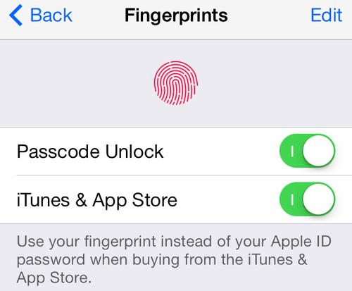 Further improvements to Touch ID on the iPhone 5s are on tap for the new iOS 7 update