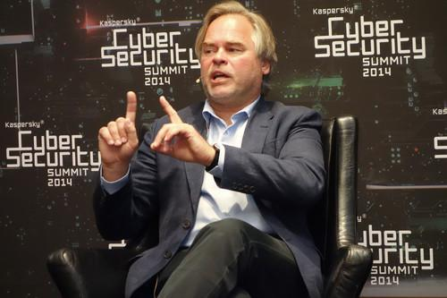 Eugene Kaspersky, chairman and CEO of Kaspersky Lab, spoke on Tuesday at a Kaspersky conference in San Francisco.