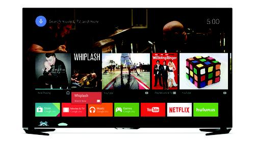 Sharp's new LC-60UE30U 4k television runs on Google's Android TV operating system.