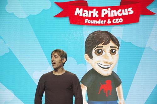 Zynga founder Mark Pincus, pictured at the company's San Francisco office in 2011.