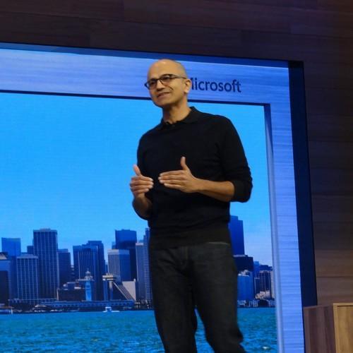 Satya Nadella, discussing the post-PC future of Windows 10 at Build 2015