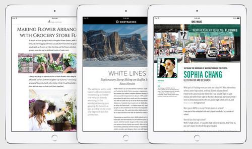 Apple has an OS-level ad platform called iAd, which it will use to monetize the iOS 9 News app.