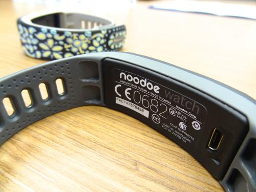 Seen at a demo on the fringes on Computex 2015 in Taipei on June 2, the Noodoe is a stripped-down smartwatch that can display watch face designs created by users on pen and paper. It's supposed to ship later this year for under USD$100.