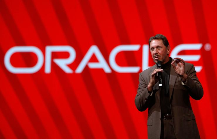 Larry Ellison - founder and chairman, Oracle