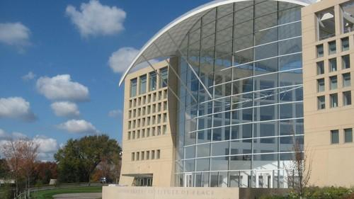 The PeaceTech Lab is located at the U.S. Institute of Peace in Washington, D.C.