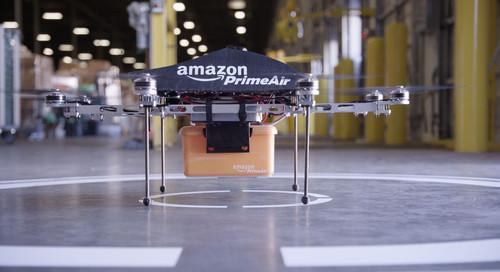 Amazon's proposed drones will deliver packages in 30 minutes or less